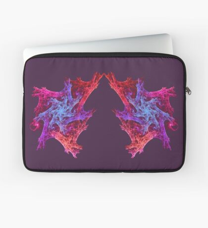 Heart chaos #fractal art Laptop Sleeve