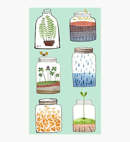 Nature In a Bottle Stickers Photographic Print