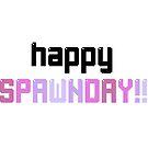 Happy Birthday - Gamer Shirt - Pink by BitGem
