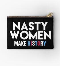 Nasty Women Make History Studio Pouch