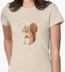 Sarah the Squirrel Women's Fitted T-Shirt