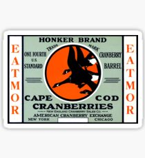 1900 Honker Cranberries Sticker