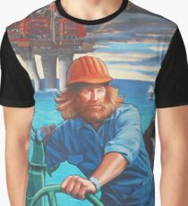 Maelstrom Mural - Construction Worker Graphic T-Shirt