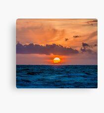 Dutch Sunset Canvas Print