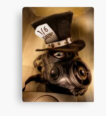 Gas Hatter Canvas Print