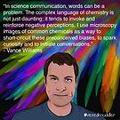 #SciComm100: Vance Williams by ScienceBorealis