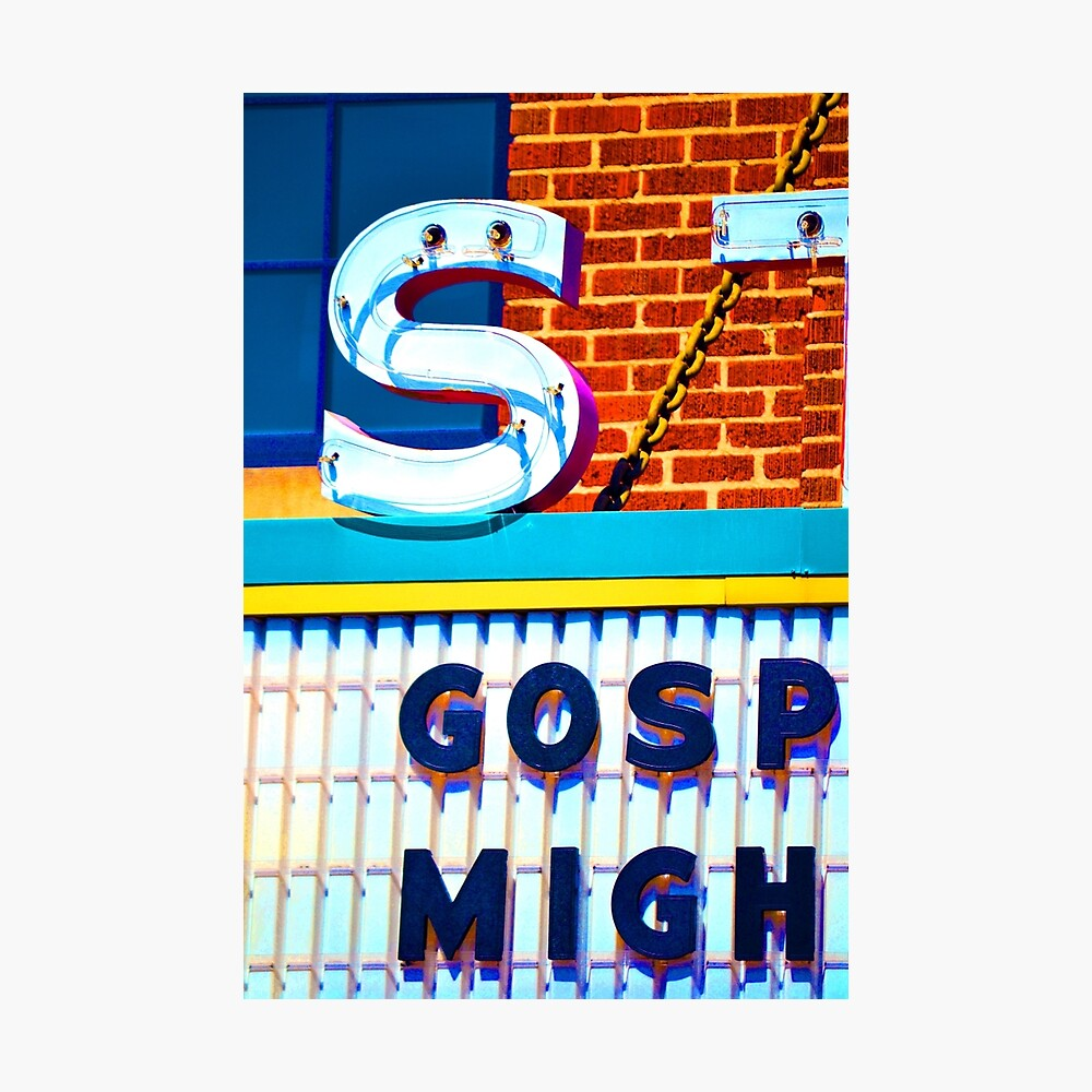 Gospel at the Strand Photographic Print