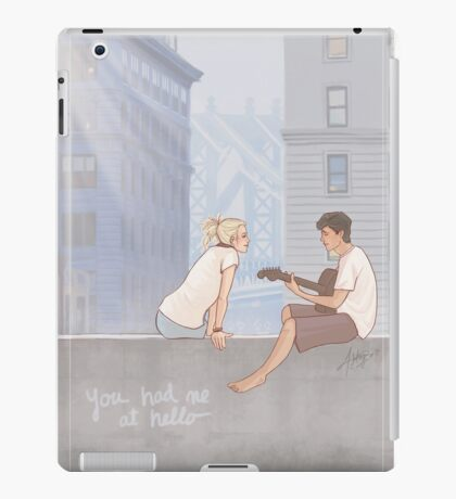 You Had Me At Hello iPad Case/Skin