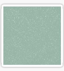Snowstorm blizzard on a pastel green background Sticker