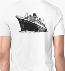 Cruise Ship, Ocean Liner, Ship, Trans Atlantic T-Shirt