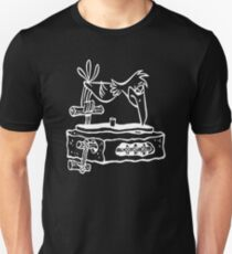 Flintstones Vinyl Record Dj Turntable T-Shirt