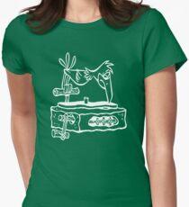 Flintstones Vinyl Record Dj Turntable T-Shirt