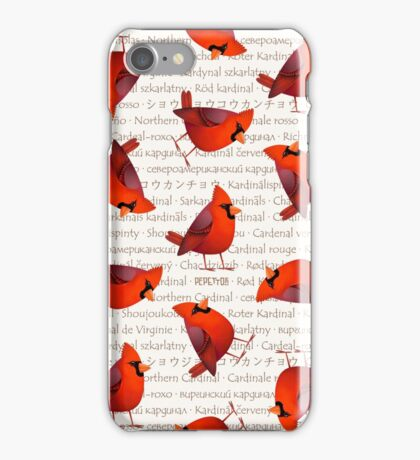 Masked Cardinalis iPhone Case/Skin