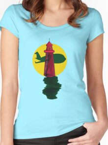 LightHouse Air Women's Fitted Scoop T-Shirt
