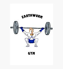 Earthworm Gym Photographic Print