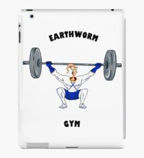Earthworm Gym iPad Case/Skin