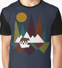 Bear Mountain Graphic T-Shirt