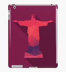 World landmark, Christ The Redeemer, Rio De Janeiro, Brazil, South America iPad Case/Skin