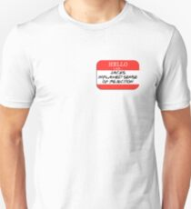 Fight Club - I am Jack's inflamed sense of rejection Unisex T-Shirt