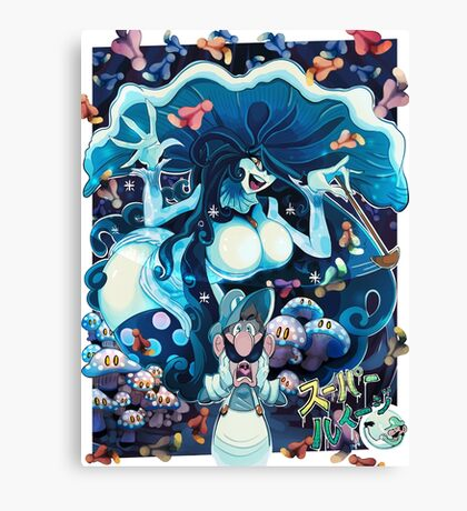 Toadstool Mage Canvas Print