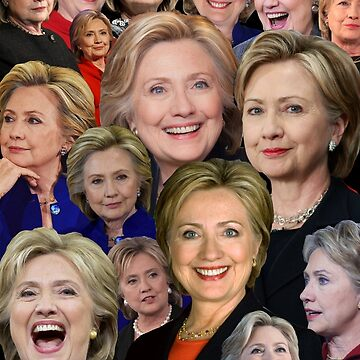 Hillary Clinton Collage by oison75