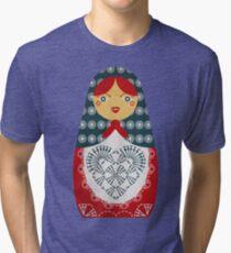 Crochet Doll Tri-blend T-Shirt