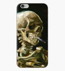 Vincent van Gogh Head of a Skeleton with a Burning Cigarette iPhone Case