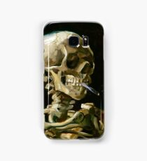 Vincent van Gogh Head of a Skeleton with a Burning Cigarette Samsung Galaxy Case/Skin