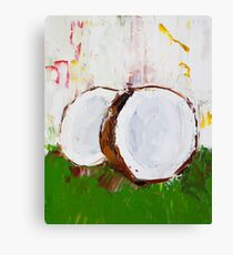 Castle Full of Coconuts Canvas Print