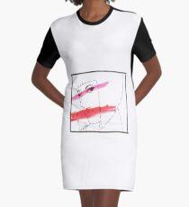 Makeup Tutorial Graphic T-Shirt Dress
