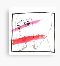 Makeup Tutorial Canvas Print