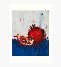 The Dark Pomegranate Art Print
