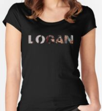 Old Man Logan - Logan Women's Fitted Scoop T-Shirt