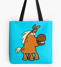 Cartoon Palomino Stud by Cheerful Madness!! Tote Bag