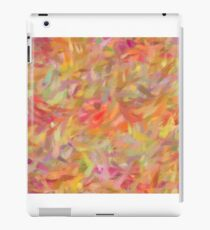 Bright brush strokes, abstract iPad Case/Skin