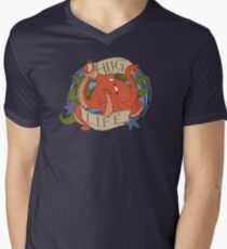 Octopus - HUG LIFE Men's V-Neck T-Shirt