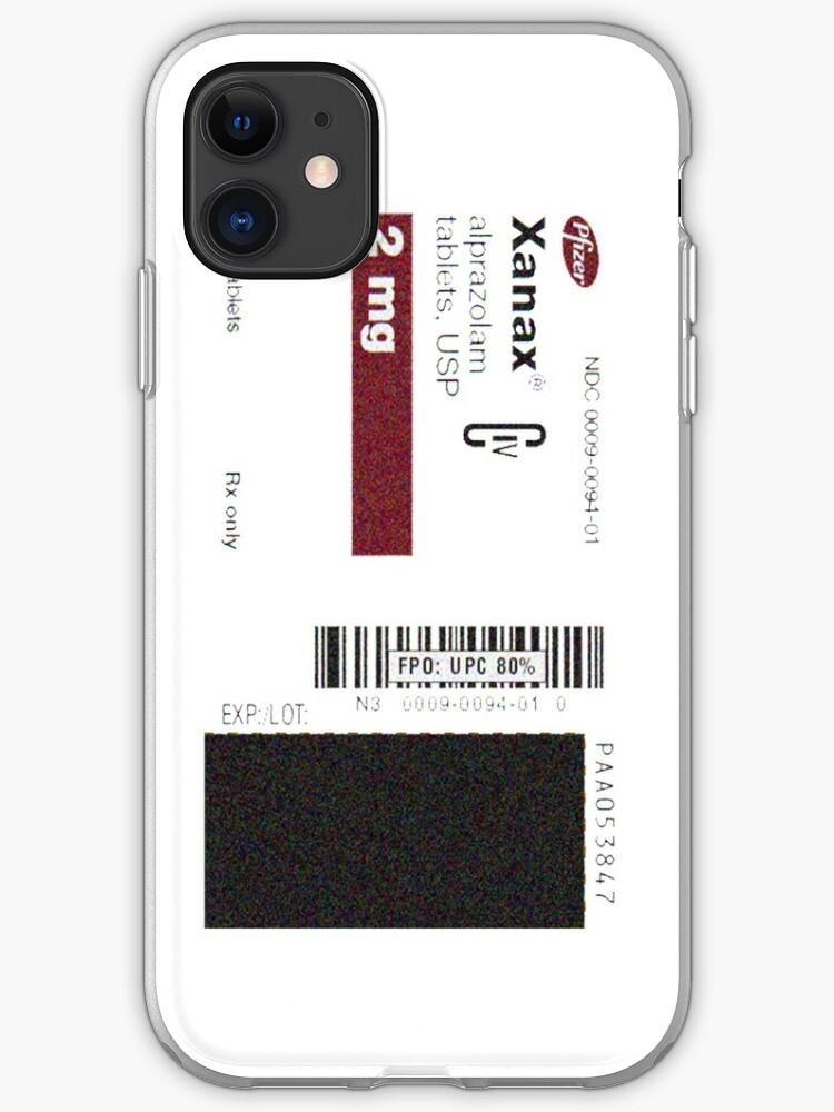 xanax cover iphone