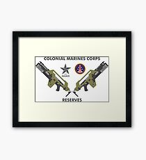 Colonial Marines Corps Reserves Framed Print