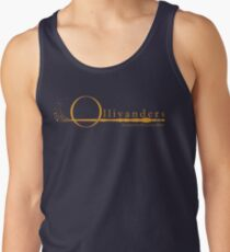 Ollivanders Logo in Yellow Tank Top