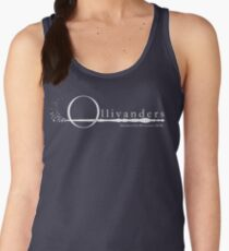 Ollivanders Logo in White Women's Tank Top