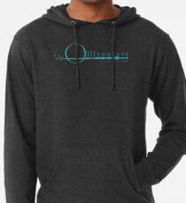 Ollivanders Logo in Blau Leichter Hoodie