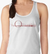 Ollivanders Logo in Red Women's Tank Top