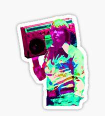 John Denver is LIT Sticker