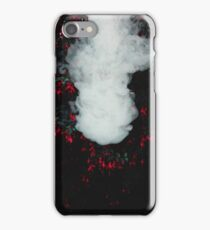 Smoke and Leaves 1/3 iPhone Case/Skin