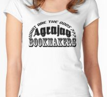 Agrajag Betting Services Women's Fitted Scoop T-Shirt