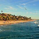 San Clemente Coastline - California by Glenn McCarthy
