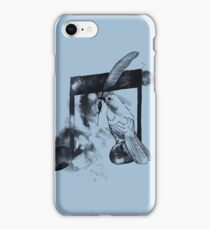 Music Painter - Blue iPhone Case/Skin
