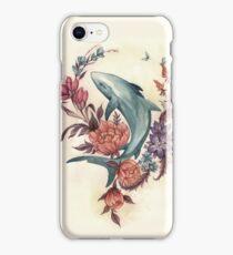 Floral Shark iPhone Case/Skin