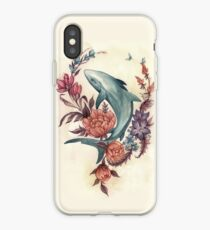 Floral Shark iPhone Case