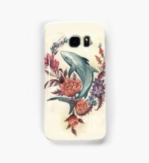 Floral Shark Samsung Galaxy Case/Skin
